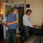 Pierangelo Troiano and Michele Signore preparing the Universal Audio Workshop Photo by Antonio Campeglia www.ageofaudio.com