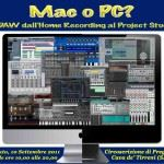Mac o Pc? La DAW dall'Home Recording al Project Studio