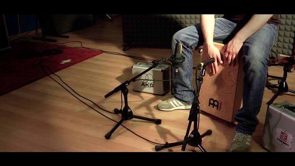 Dynamic mic Vs Condensator mic - Cajon