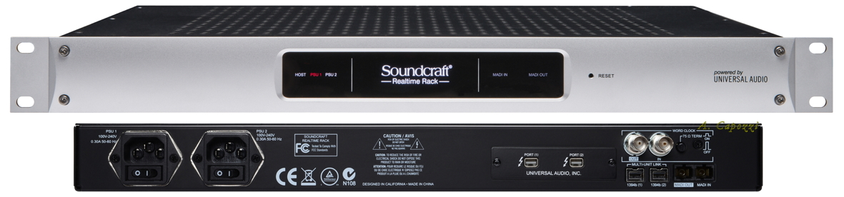 Fig.10 - UAD Soundcraft Realtime Rack