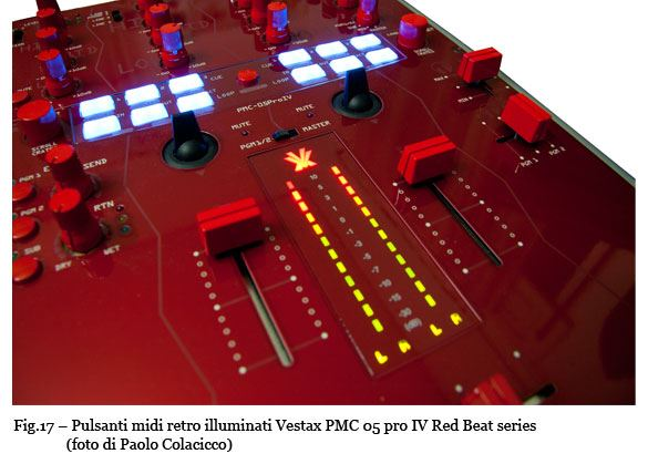 Vestax PMC 05 Pro IV Red Beat series