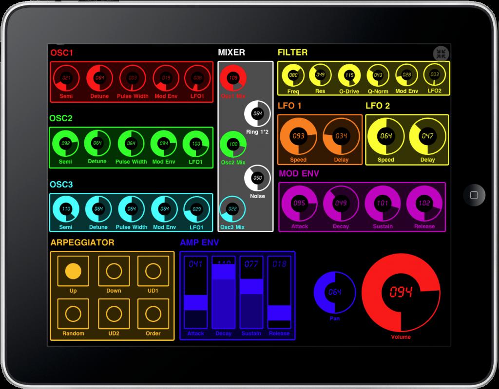 1 Midi Touch per iPad - Domestic Cat - Midi Touch