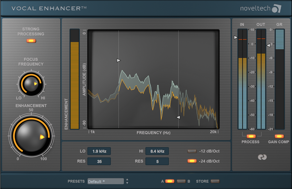 noveltech vocal enhancer Age of Audio - NovelTech - Vocal Enhancer