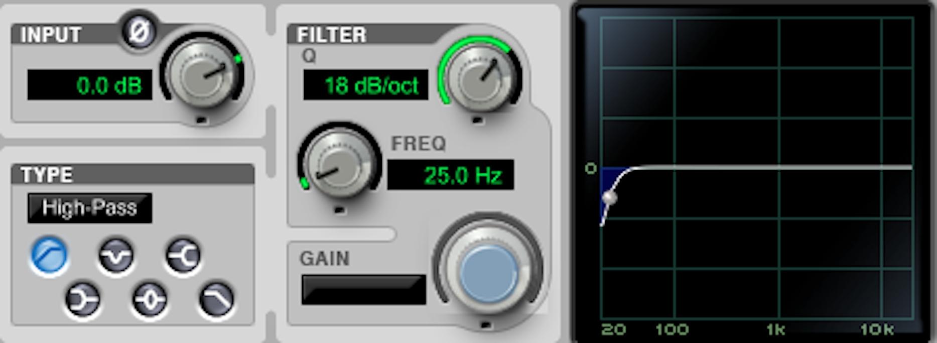 EQ Mastering Age of Audio - La catena di mastering: l'uso dei filtri