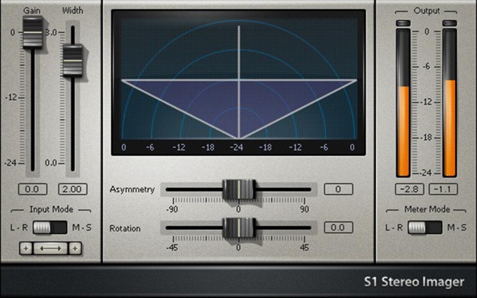 S1 stereo imager Age of Audio - La catena di mastering: Processori per l'immagine stereofonica!