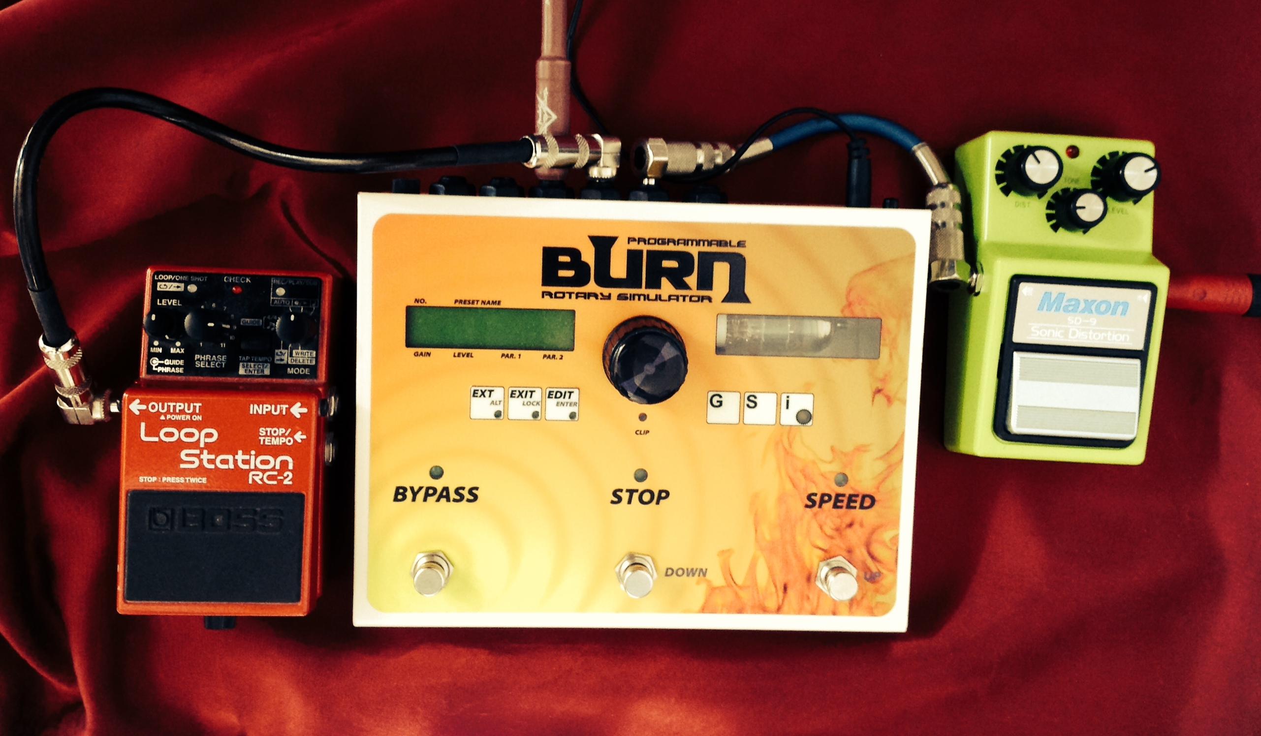 Setup GSI Burn - Giulio Erra