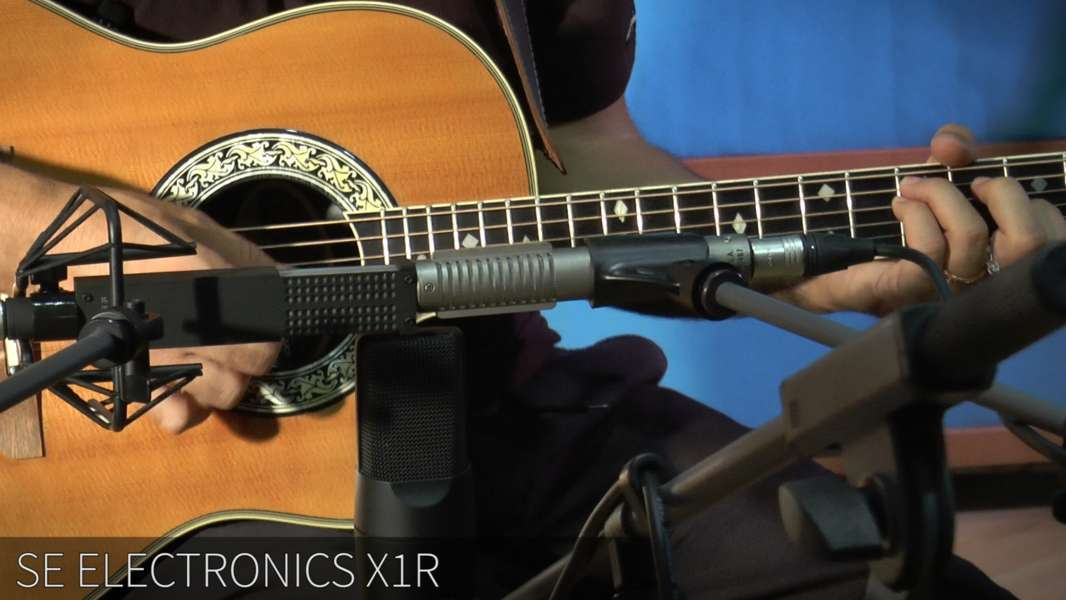 Testing microphones – ROYER  R121 VS SE X 1R