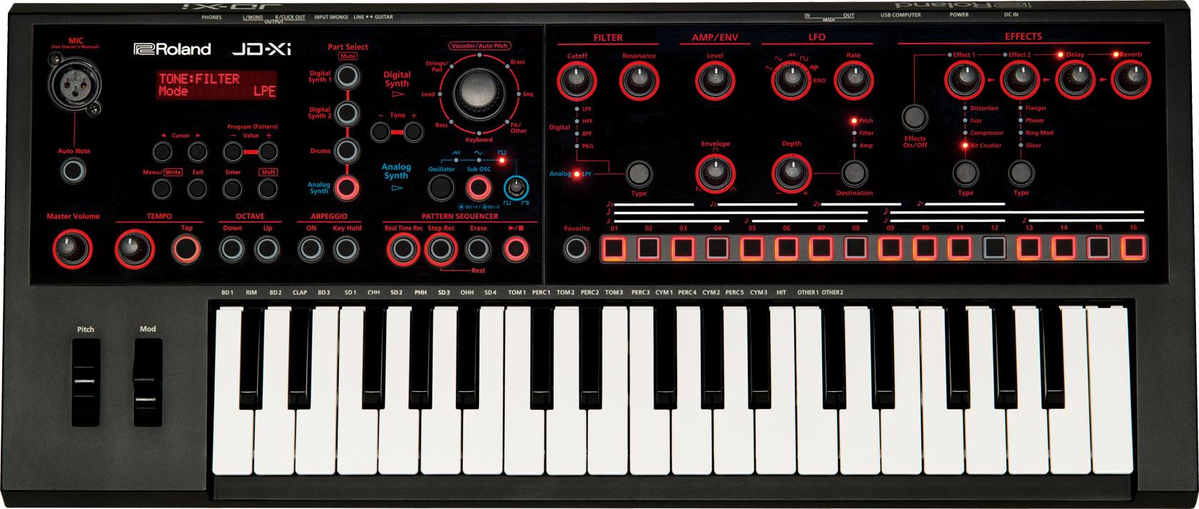 Roland JD Xi Age of Audio - Namm 2015 - Roland - JD Xi