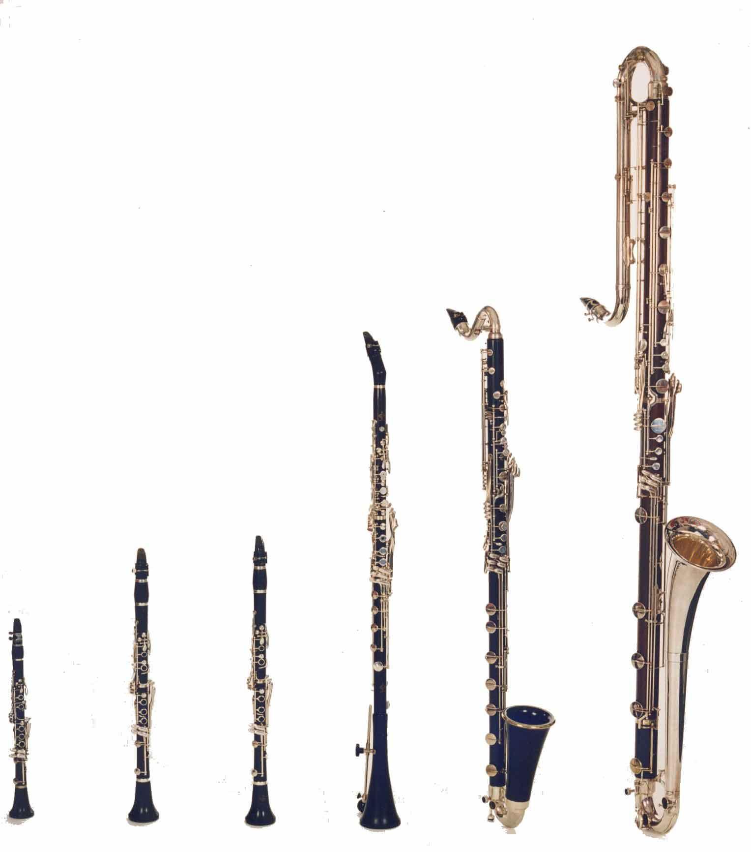 clarinetti famiglia - Non capisci un piffero!  Un po' domande sul clarinetto.