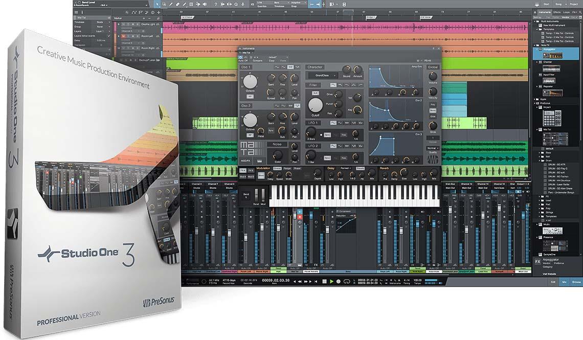 Presonus Studio One 3 copia - PreSonus Music Education Italia
