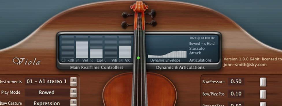 SampleModeling Viola AgeOfAudio - SampleModeling Viola
