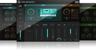 UVI Synth Anthology 2 - GUI