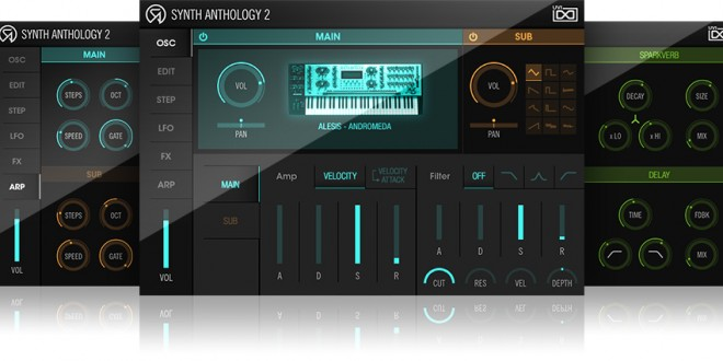 UVI Synth Anthology 2 - GUI