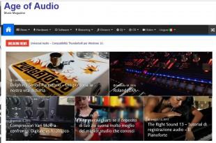Age of Audio 310x205 - Magazine online: un'idea, un'esperienza