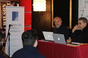 Clinic 22Come nasce una canzone22 con Massimo Calabrese e Marco Lecci  310x205 - Mestieri della Musica