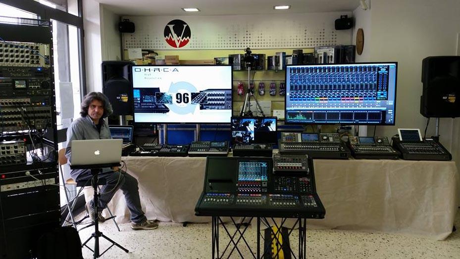 Massimiliano Stival - Evento Roland - Seminario di Mixing e Monitoring.