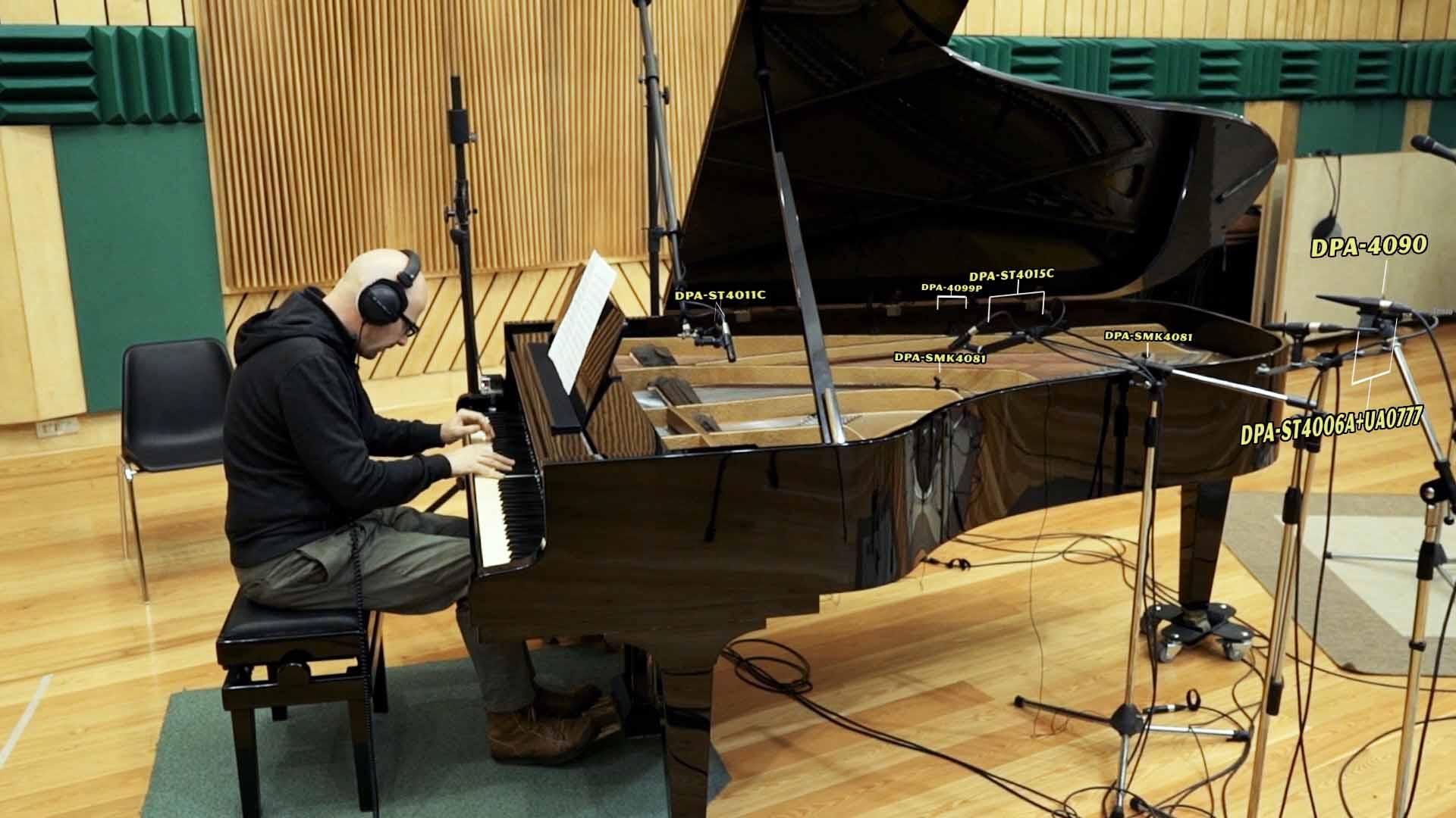 Microfonazione pianoforte - DPA day 2016 - Splash Recording Studio - Napoli