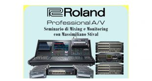 Seminario Roland AgeofAudio 310x165 - Evento Roland - Seminario di Mixing e Monitoring.