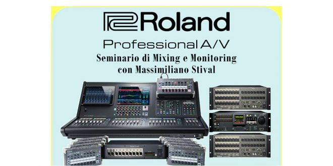 Seminario Roland AgeofAudio 660x330 - Evento Roland - Seminario di Mixing e Monitoring.