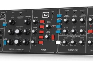 Behringer D synth ageofaudio 310x205 - Behringer D synth.
