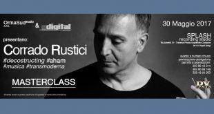 """Corrado Rustici 310x165 - """"Decostructing Aham – Il Musicista Transmoderno"""" MASTERCLASS di Corrado Rustici"""