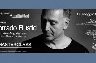 """Corrado Rustici 310x205 - """"Decostructing Aham – Il Musicista Transmoderno"""" MASTERCLASS di Corrado Rustici"""