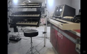 Fig. 2 - Immagine tratta dalle session in studio del 1986