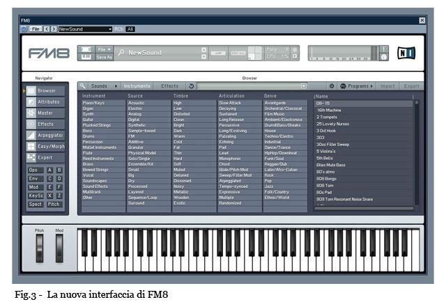 fm8 - Native Instruments FM 8