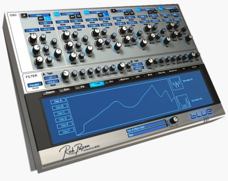 rob paper blue render - Rob Papen BLUE