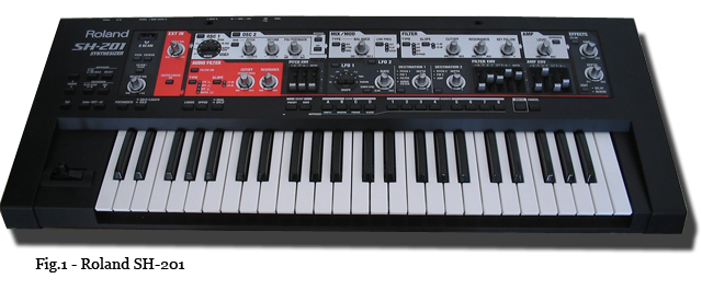 roland sh201 - Roland SH-201