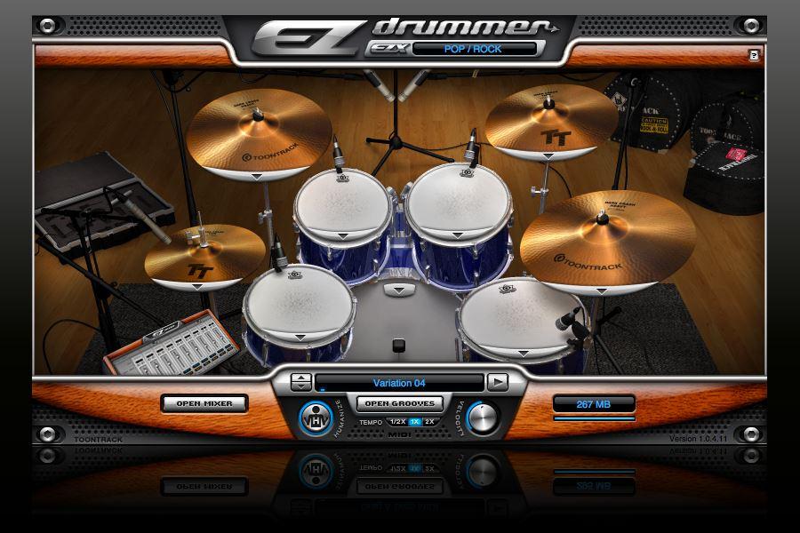 Ez drummer Age of Audio - EZ DRUMMER – Multi Layer Drum Sampler