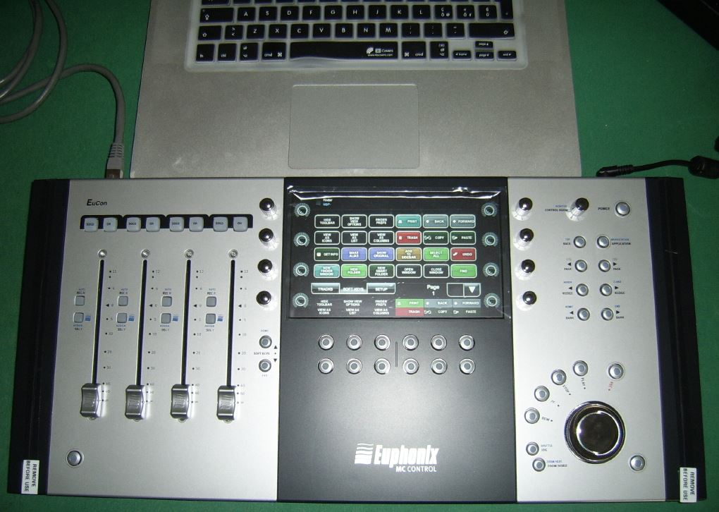 00 - Euphonix Artist series: MC Control