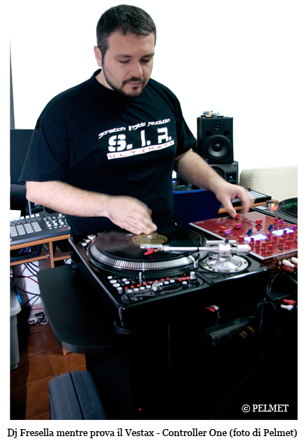 dj fresella  control one - Vestax - Controller One