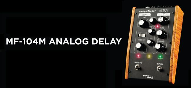 MF 104 M - Moog - MF-104M Analog Delay