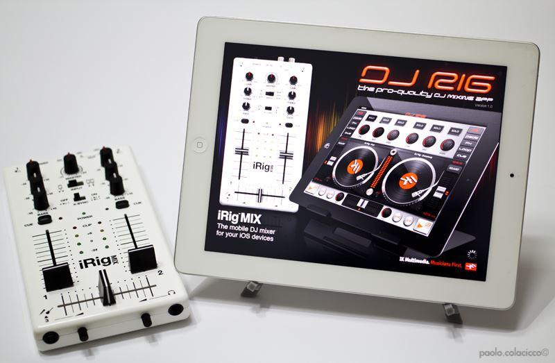 i Rig mix DJ Rig Ageofaudio - IK Multimedia - Dj Rig e iRig Mix