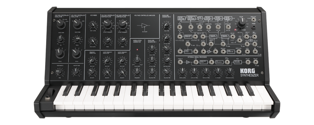 Korg MS 20 mini Ageofaudio - Korg - MS-20 mini  Monophonic Analog Synthesizer