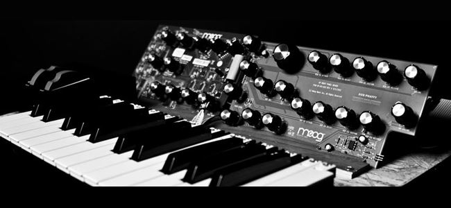 New Moog Synt Age of Audio1 - Next from Moog
