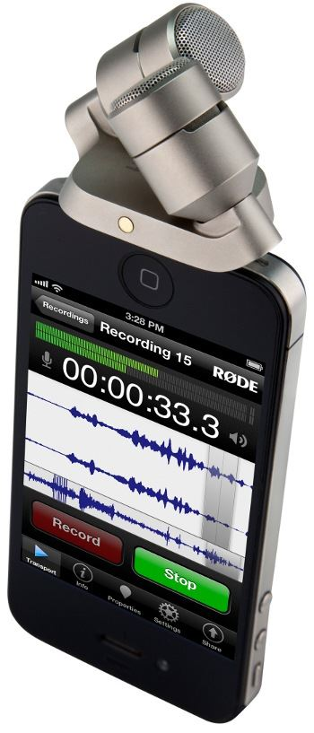 Rode iXY Age of Audio - Rode - iXY Microfono per  iPhone e iPad