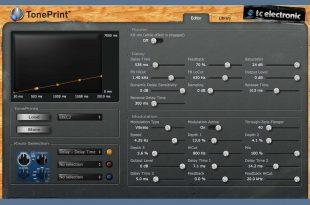 TC Electronic – TonePrint Editor  310x205 - TC Electronic - TonePrint Editor