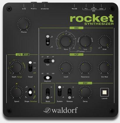 rocket top view Age of Audio1 - Waldorf - Rocket