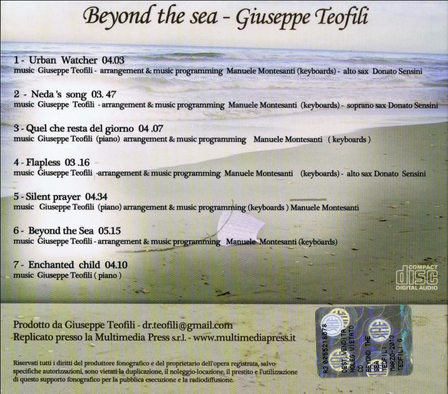 Beyond the sea AgeOf Audio - Giuseppe Teofili - Beyond the sea