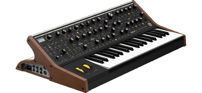 Moog Sub 37 Age of Audio - Namm 2014 - Moog SUB 37 Tribute Edition