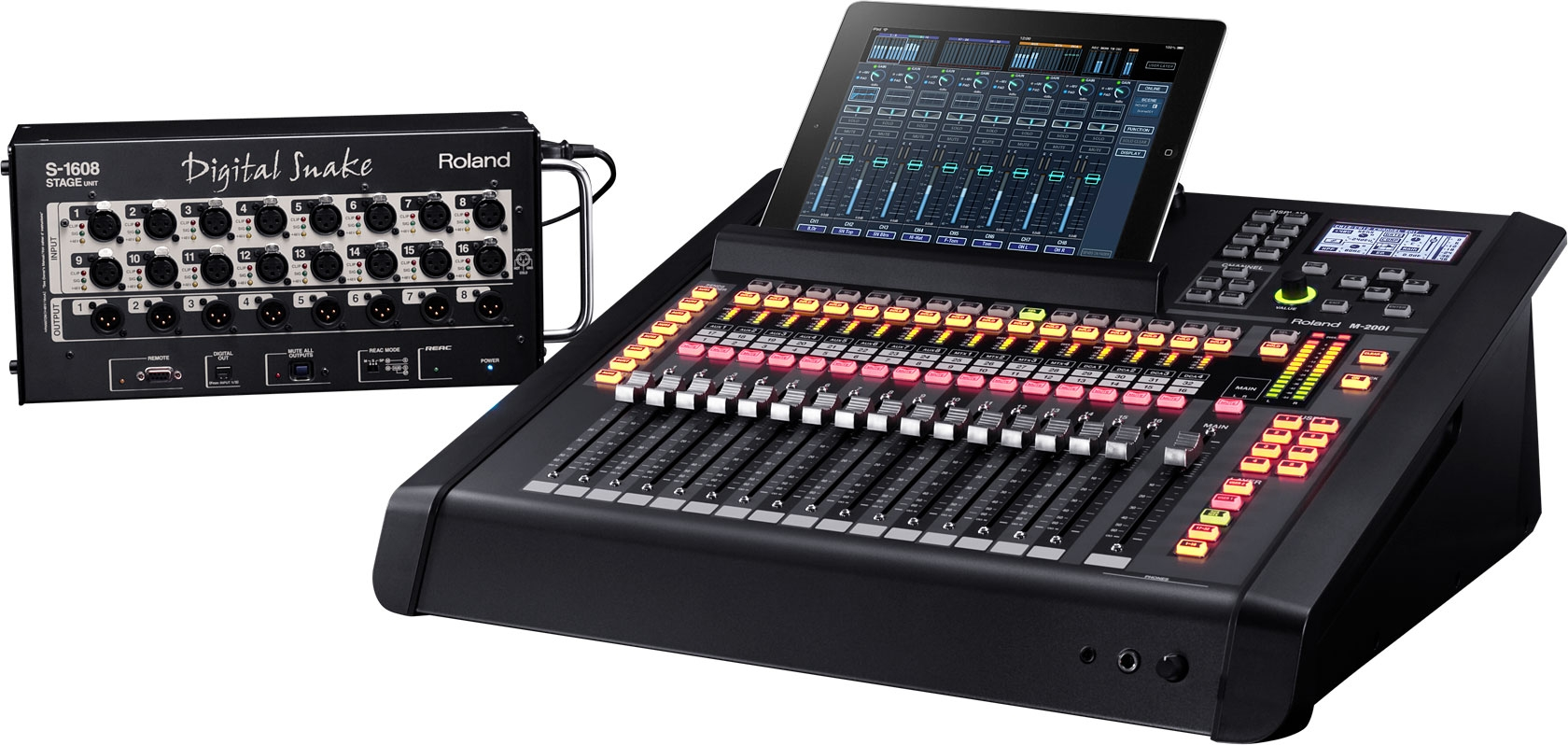Roland Mixer Tour 2013a Age of Audio - Roland System Group M200i Video Reportage