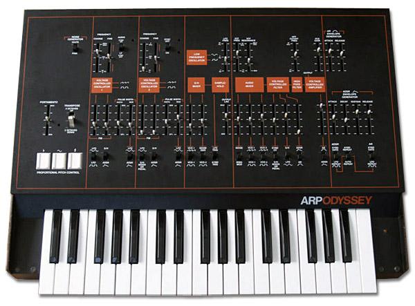 Arp Odyssey Age of Audio - Korg Arp Odyssey