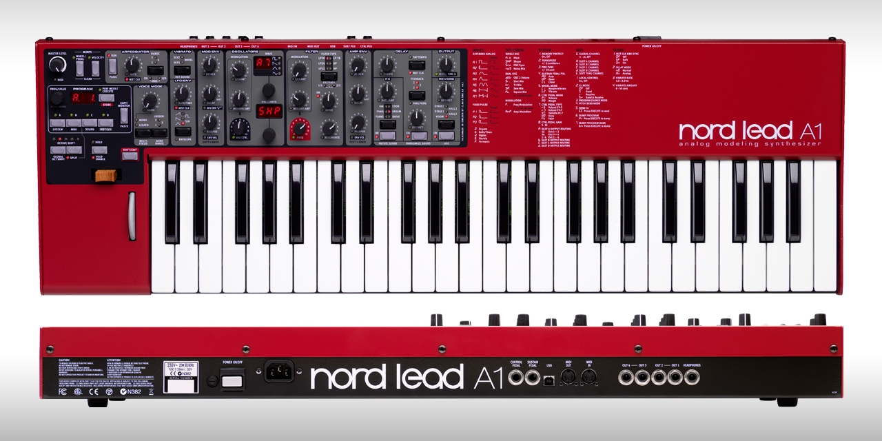 Nord Lead A1 Age of Audio - Nord Lead A1 e A1R