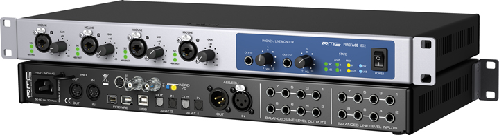 RME Fireface 802 Age of Audio - RME Fireface 802