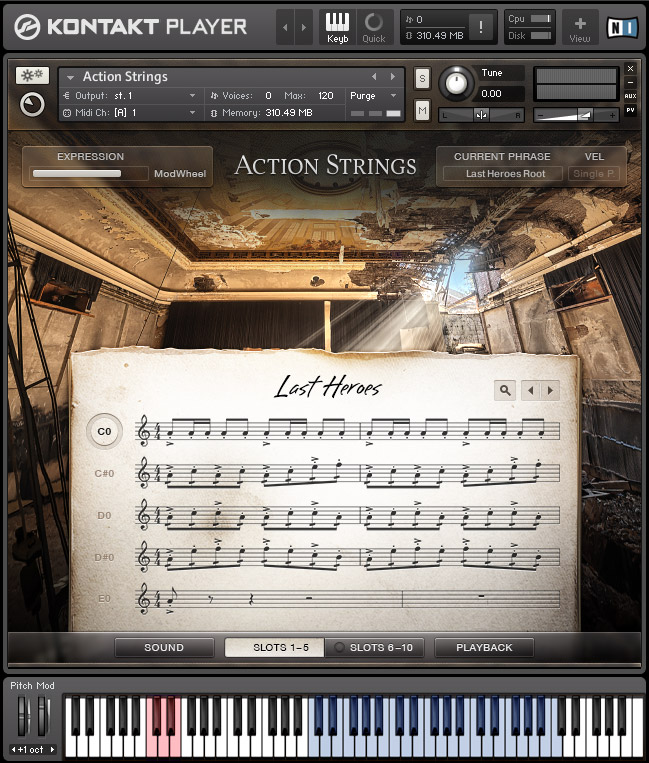 ACTION STRINGS image gallery MAIN L - Native Instruments - Action Strings