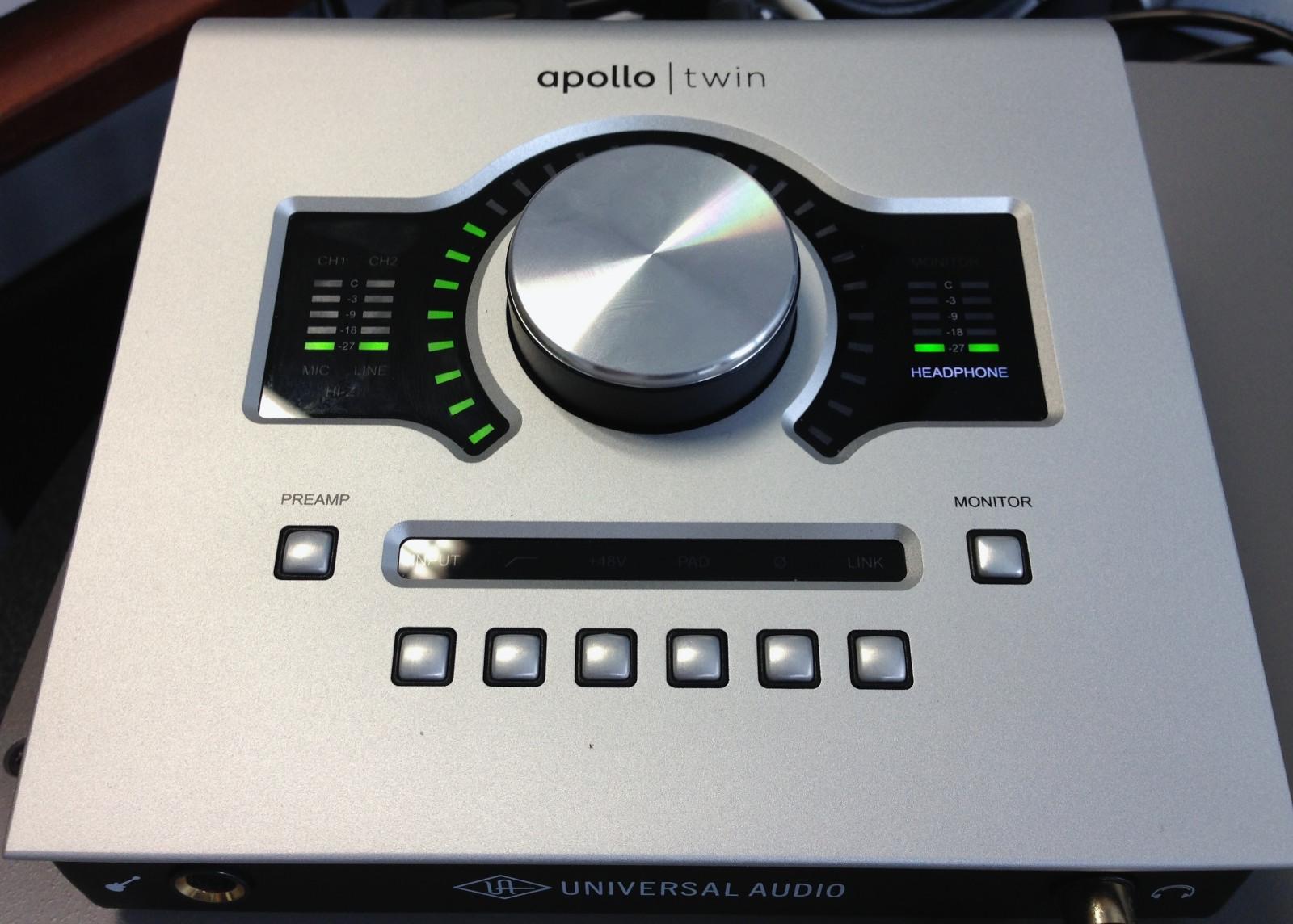 Apollo Twin Age of Audio - UAD Apollo TWIN  Parte 1