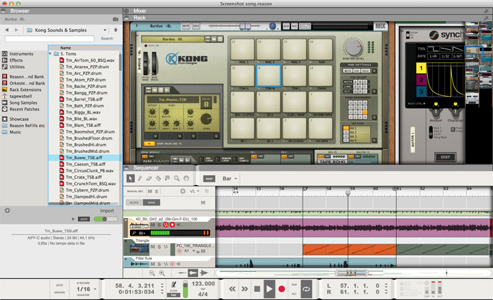 Reason 8 Age of Audio - Reason 8 by Propellerhead