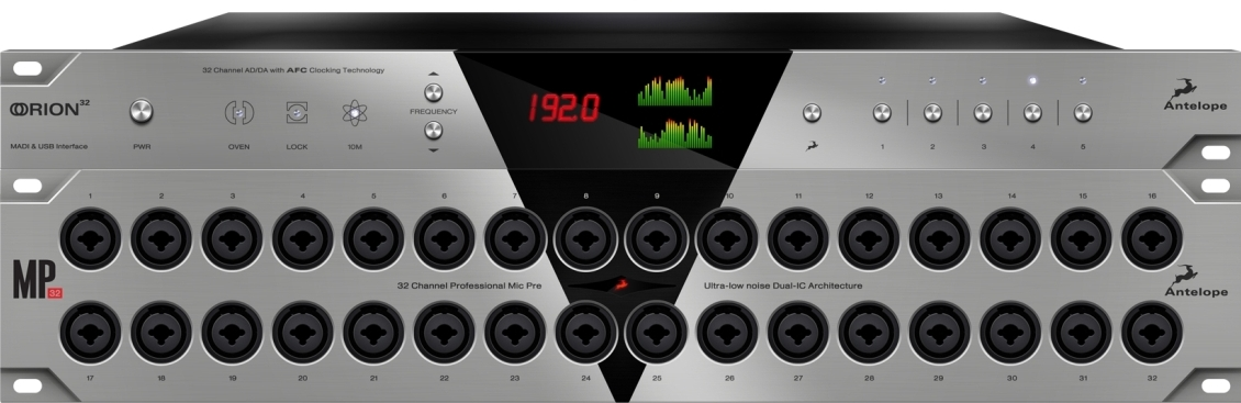 Antelope Audio MP32 con Orion32 Age of Audio - Antelope Audio  MP32